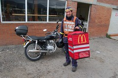 Repartidor de McDonalds