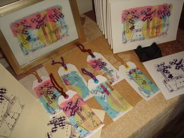 My First Gocco Print Display