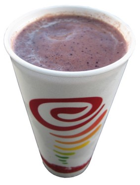 Jamba Juice Berried 'n Chocolate Smoothie