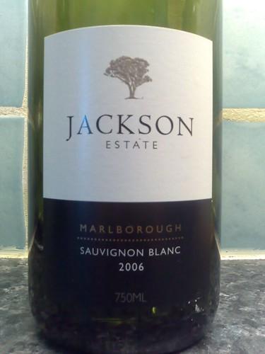 Jackson Estate Sauvignon Blanc 2006