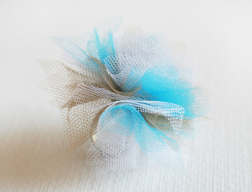 Tulle Adjustable Ring