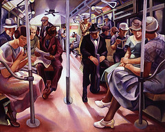 Lily Furedi: Subway, 1934