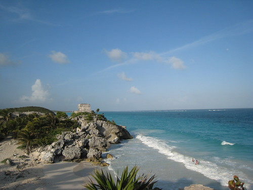 Tulum - temple by the beach