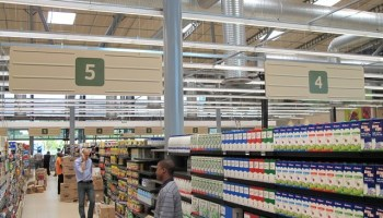 X-Board eco signage at Pick n Pay
