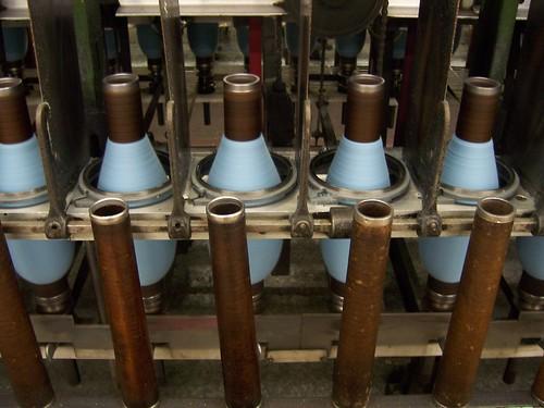 pendleton spinning machine