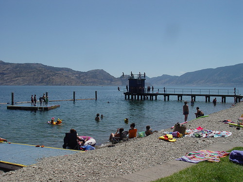 Peachland Beach....