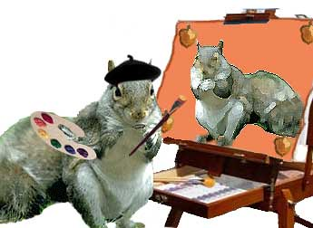 squirrel artist