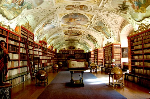 Theological Hall - Original Baroque Cabinets