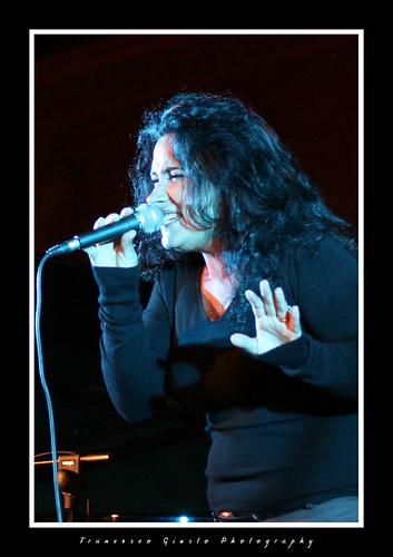 The singer - Stefania Carati