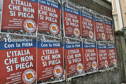 L'Italia che non si piega (ma si spezza?)