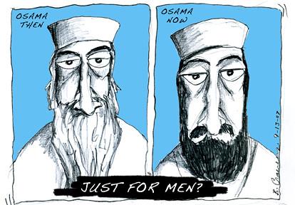 osama's beard