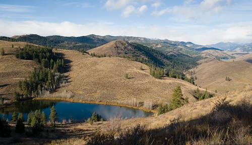 Aspen Lake, Patterson Lake, Goat Peak