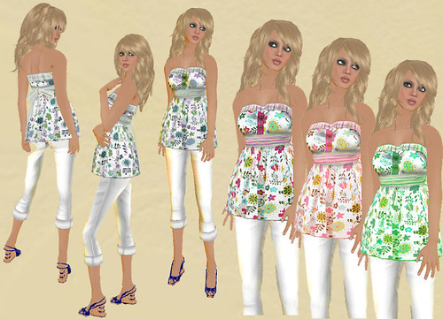 MG Fashion Flowered Babydoll