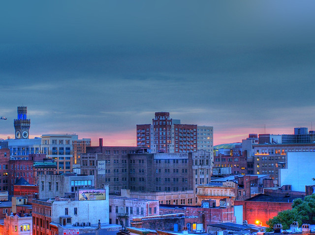 Baltimore at Dusk HDR