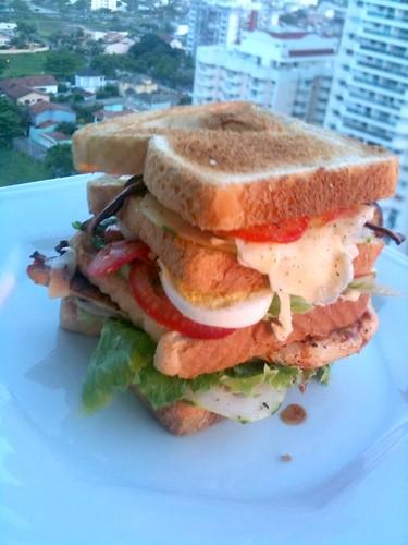 Triple Decker Club Sandwich by foodfreak