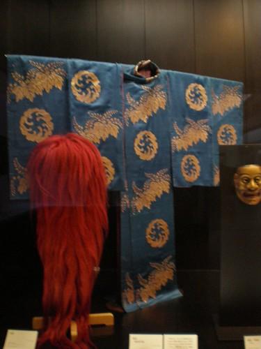 Museo nacional de Tokyo, kimono, kabuki