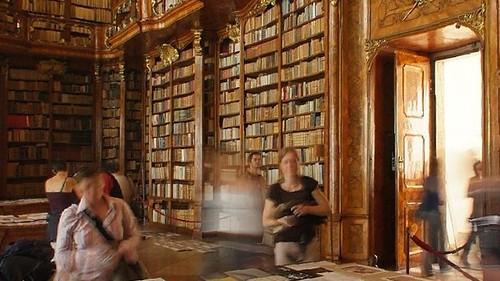 panoramica biblioteca