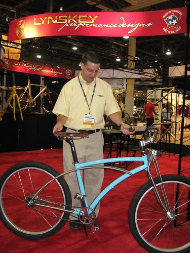 Lynskey titanium cruiser bicycle