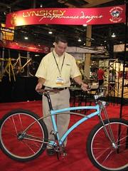Lynskey titanium cruiser bicycle