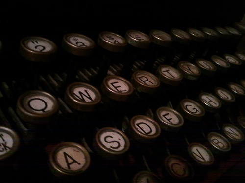 Typewriter by mikeymckay