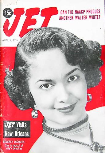 Typical New Orleans Black Beauty - Jet Magazine April 7, 1955 by vieilles_annonces.