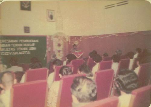 Pembukaan Jurusan Teknik Nuklir, Agustus 1977 (28)