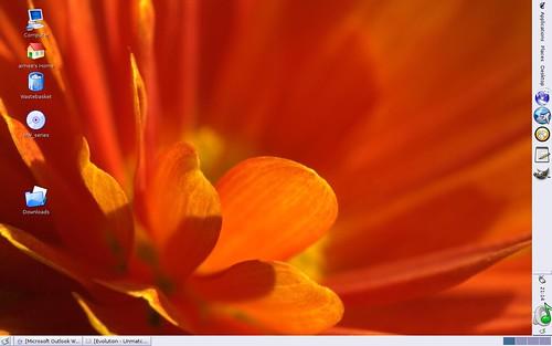 Debian desktop screenshot