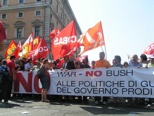 No Bush No War Day