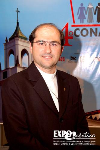Padre Joãozinho no 4º CONAGE por 6ª ExpoCatólica (agosto 2008 no ExpoCenter Norte.