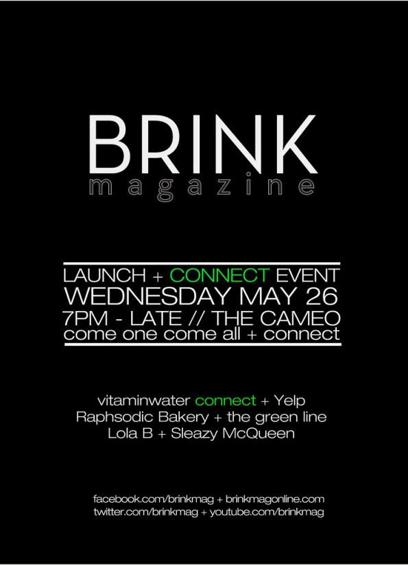Brink Magazine Launch Event