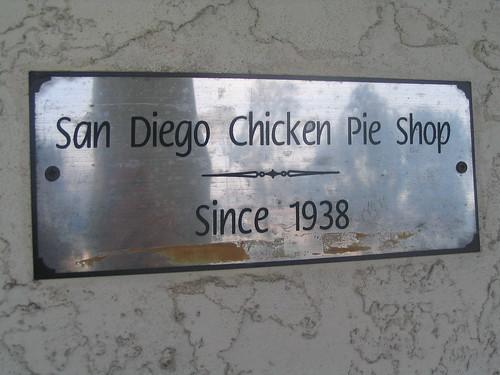 San Diego Chicken Pie Shop since 1938