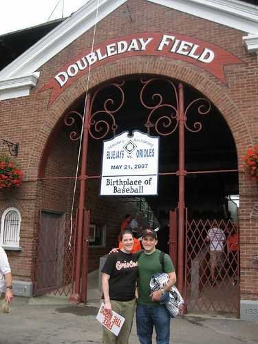 me and joe at doubleday field 2 crop