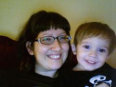 mama and baby (iSight)
