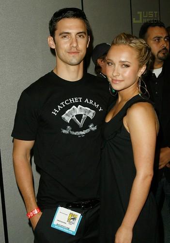Milo Ventimiglia et Hayden Panettiere