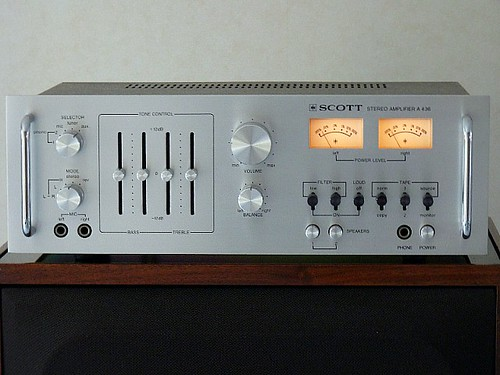 Amplificateur Scott A436 Composium Electronic Quimper