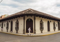 Day 288. I'm actually a day out of Granada and only two days from the Costa Rican border, but the city was so damn photogenic I have to post at least one more shot. Look at that sidewalk! And the roof! And the doors! And the windows! If I ever buy a city