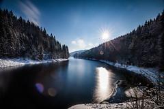 Winter rund um die Ködeltalsperre-4