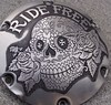 "'Ride Free' hand engraved H-D Sportster derby cover • <a style=""font-size:0.8em;"" href=""http://www.flickr.com/photos/72528309@N05/24469161942/"" target=""_blank"">View on Flickr</a>"
