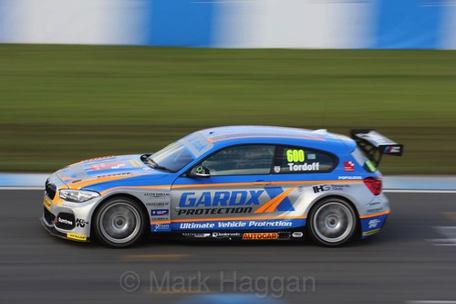 Sam Tordoff during the BTCC Donington Weekend, April 2016