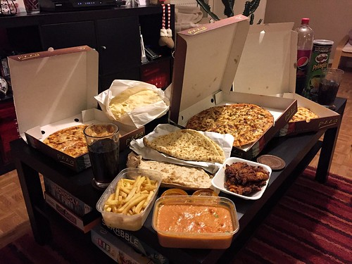 Today is all about...the inaugural New Year's Day takeaway