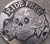 "'Ride Free' hand engraved H-D Sportster derby cover • <a style=""font-size:0.8em;"" href=""http://www.flickr.com/photos/72528309@N05/24209529589/"" target=""_blank"">View on Flickr</a>"
