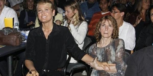 Mãe de Xuxa Meneghel continua internada no Rio