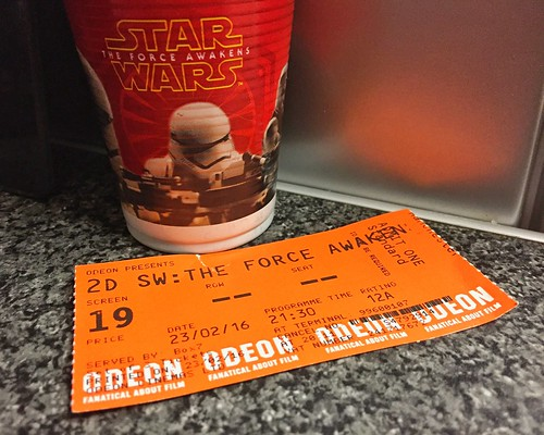 Today is all about...Star Wars: The Force Awakens