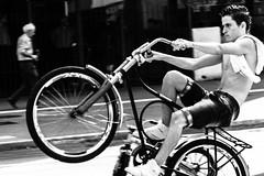 Fierce biker