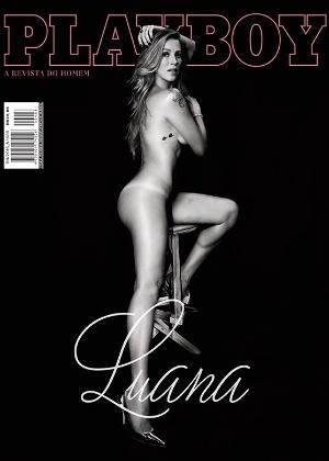 "Revista ""Playboy"" divulga capa com Luana Piovani"