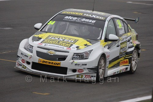 Hunter Abbott in the BTCC Media Launch Event 2016