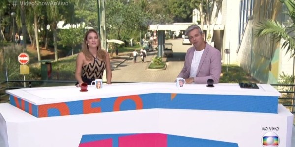 """""""Chega de puxadinho"""", diz Otaviano Costa em novo estúdio do """"Vídeo Show"""""""