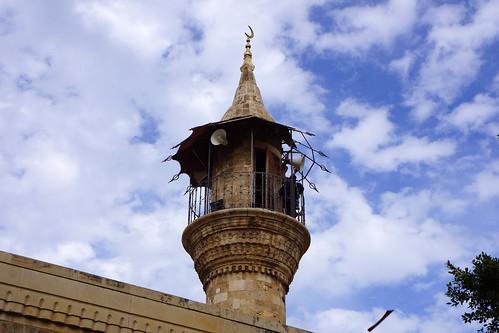 Beyrouth / Ancien minaret de la mosquée al-Majidiyeh