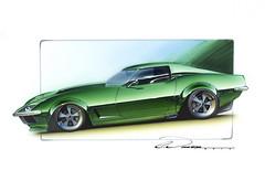 69 Corvette Green