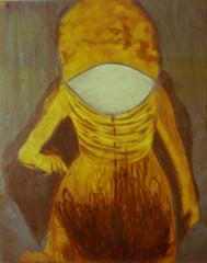 P. PECORELLA_L'alchimista, processi combinati (acquaforte, acquatinta, vernice allo zucchero, ceramolle, pastello litografico, elettropunta), stampa  a colori, 2012